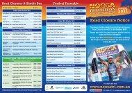 Road Closure Notice - USM Events