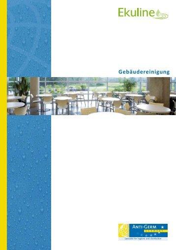 Gebäudereinigung - Ekuline - Reinigung und Pflege
