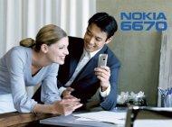 Nokia 6670 User's Guide - virginmobile.com