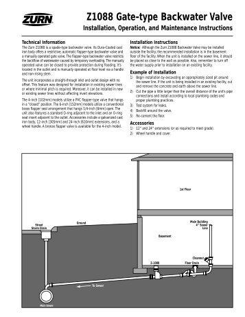 Brochure Flood Gate Automatic Backwater Valves Jay R