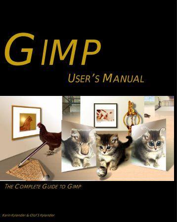gimp user manual pdf download