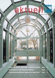 WOHNTAG 2003 - Berliner Bau- und Wohnungsgenossenschaft von ...