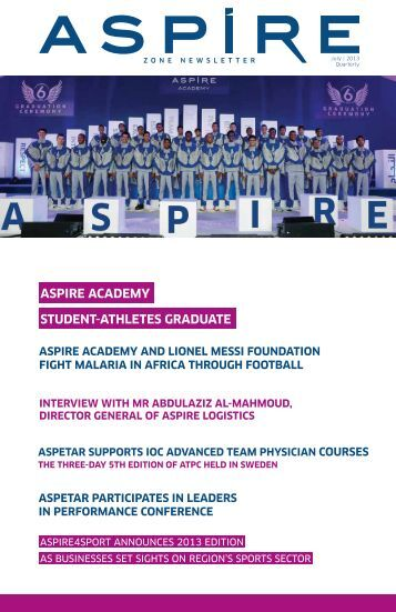 ASPIRE ACADEMY STUDENT-ATHLETES GRADUATE - Aspire Zone