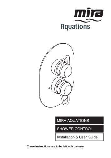 installation user guide mira gem 88 shower alert electrical rh yumpu com Pcoket Guide VeriFone Vx570 Manual Guide