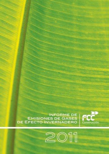 INforme GEI - FCC Construcción