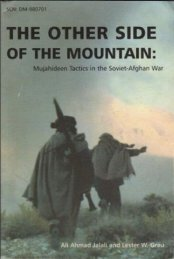 Mujahideen Tactics in the Soviet-Afghan War - Bennett Park Raiders