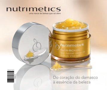 Nutrimetics - Do coração do damasco à essência da beleza