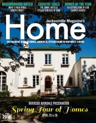 Spring 2015 Tour of Homes - Jacksonville FL