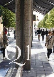HUFVUDSTADEN Delårsrapport januari – mars 2013 - Cision