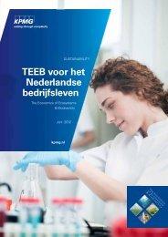 TEEB voor het Nederlandse bedrijfsleven (2,61 MB) - KPMG