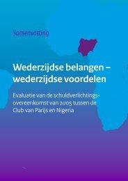 Wederzijdse belangen – wederzijdse voordelen - Rijksoverheid.nl