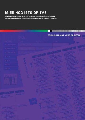 """""""Is er nog iets op TV?"""" PDF document - Rijksoverheid.nl"""