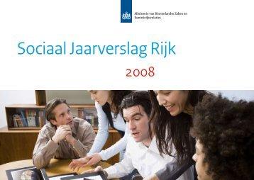 Sociaal Jaarverslag Rijk 2008