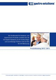 Produktkatalog 2012 / 2013 - CC Innovation GmbH