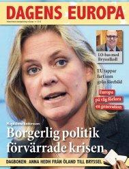 Dagens Europa pdf - Socialdemokraterna