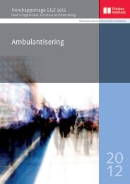 Ambulantisering - Trimbos-instituut