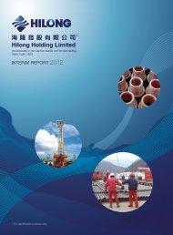 INTERIM REPORT 2012 - TodayIR.com