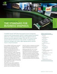 THE STANDARD FOR BUSINESS GRAPHICS