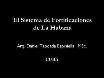 El sistema de fortificaciones de La Habana