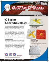 Soft Touch® Bases - SportsEdge