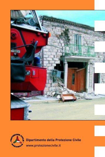 terremoto - Dipartimento della Protezione Civile