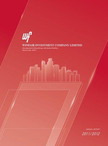 Annual Report 2011/2012 - TodayIR.com