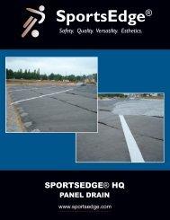 panel drain - SportsEdge
