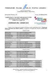 Comunicato_Tecnico_4_2012.pdf - ASA ASCOLI