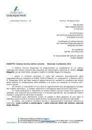 Comunicato n. 25/2012 - ASA ASCOLI