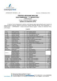 Comunicato n. 28/2012 - ASA Ascoli