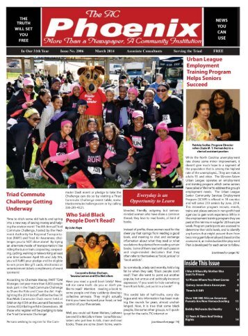 The AC Phoenix: More than a Newspaper, a Community Institution -- Issue No. 2009, March 2014
