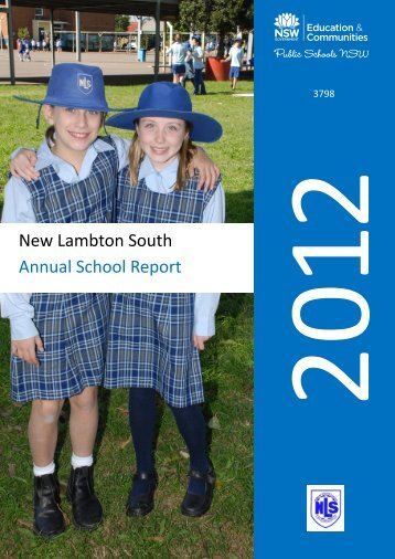 Annual School Report for 2012. - New Lambton South PS Main Page