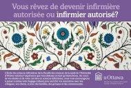 Voir ou imprimer la carte postale - Faculté des sciences de la santé