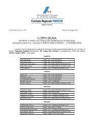 Comunicato n. 17/2012 - ASA Ascoli