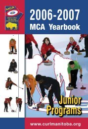Pages 1-78 - Manitoba Curling Association