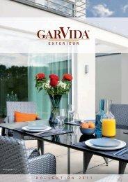 GarVida Katalog 2011 - Gartenmöbel Online Shop
