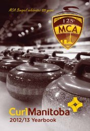 Full Yearbook - Manitoba Curling Association