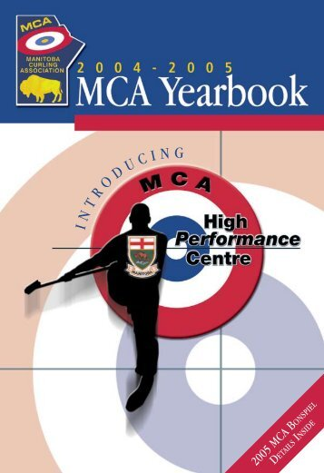 Full Yearbook - Manitoba Curling Association