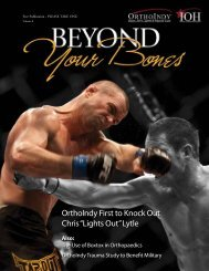 """OrthoIndy First to Knock Out Chris """"Lights Out"""" Lytle"""