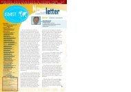 ISMST Newsletter 2008-05 No 4 - ISMST - International Society for ...