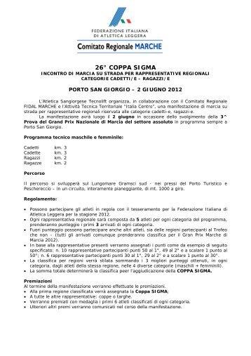 PortoSGiorgioGPMarcia - ASA Ascoli
