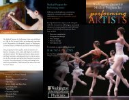 Brochure 1 - Washington University Orthopedics