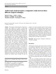 a comparative study between three different ... - IngentaConnect