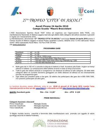 Scarica. pdf - ASA ASCOLI