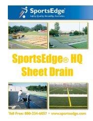 HQ Sheet Drain - SportsEdge