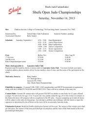 September Newsletter - Shufu Judo