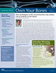 Own Your Bones