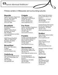 Rehab Fitness Centers