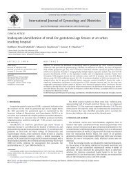 Inadequate identification of small-for-gestational ... - ResearchGate