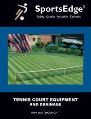 Tennis Court Equipment and Drainage - SportsEdge